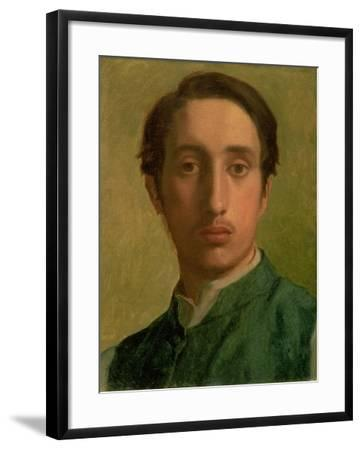 Self Portrait-Edgar Degas-Framed Giclee Print