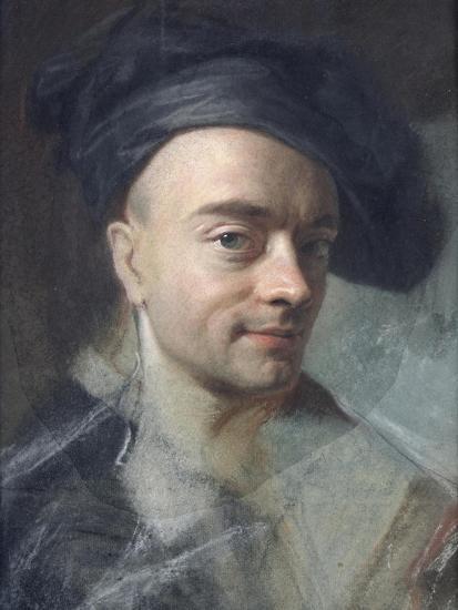 Self Portrait-Maurice Quentin de La Tour-Giclee Print