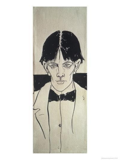 Self Portrait-Aubrey Beardsley-Giclee Print
