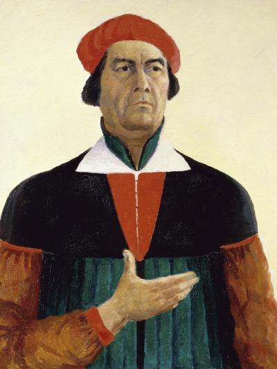Self Portrait-Kasimir Malevich-Giclee Print