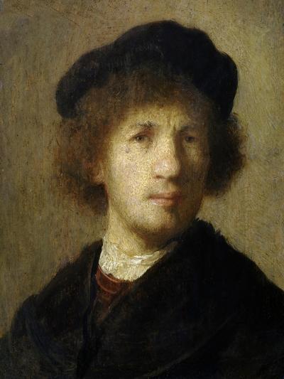Self-Portrait-Rembrandt van Rijn-Giclee Print