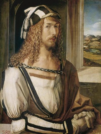 Self-Portrait-Albrecht D?rer-Art Print