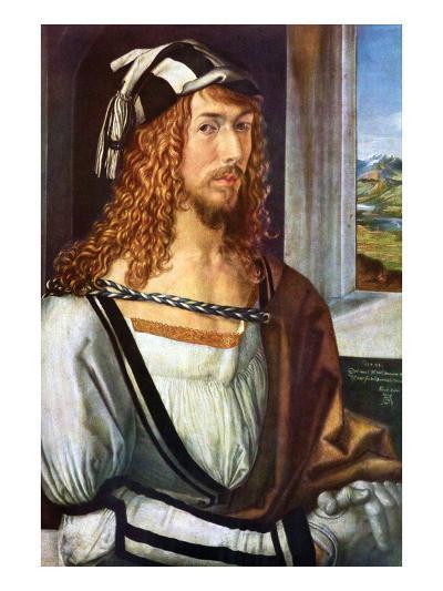 Self Portrait-Albrecht D?rer-Art Print