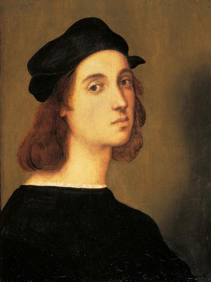 Self Portrait-Raphael-Art Print