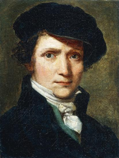 Self-Portrait-Joseph Craffonara-Giclee Print