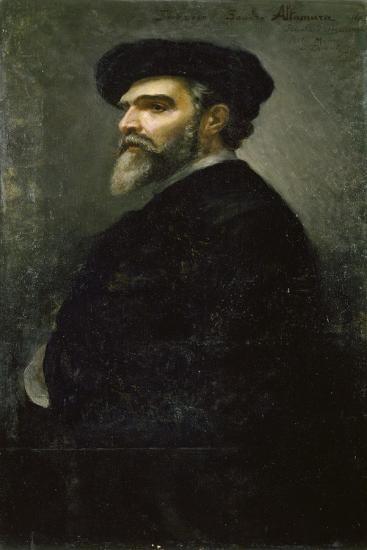 Self-Portrait-Saverio Francesco Altamura-Giclee Print