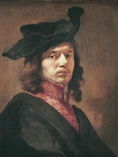 Self-Portrait-Carel Fabritius-Art Print