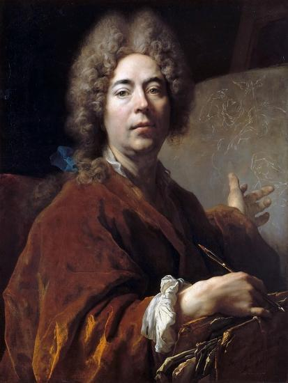 Self-Portrait-Nicolas de Largillière-Giclee Print