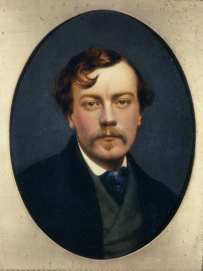Self-Portrait-George Hepper-Giclee Print