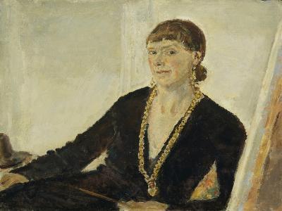 Self-Portrait-Dame Ethel Walker-Giclee Print