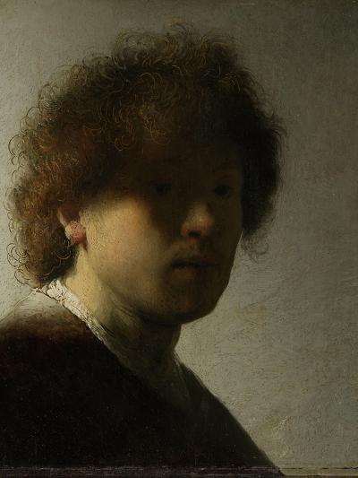 Self-Portrait-Rembrandt van Rijn-Art Print