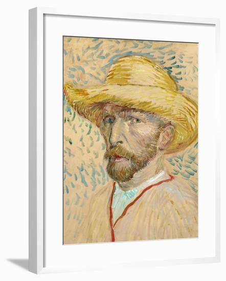 Self Portrait-Vincent van Gogh-Framed Giclee Print