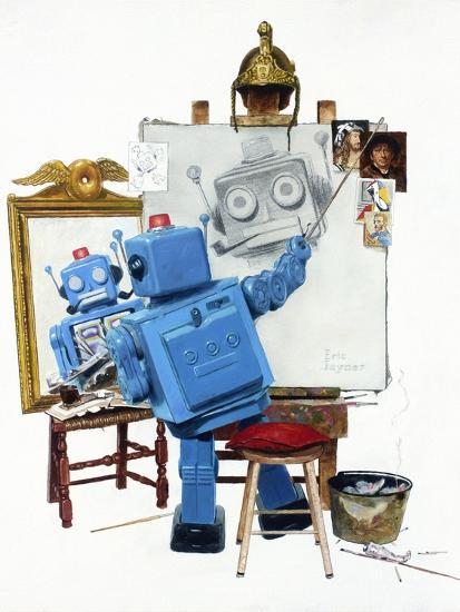 Selfie-Eric Joyner-Premium Giclee Print