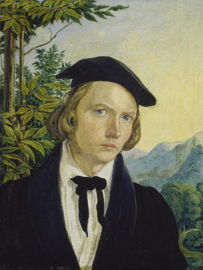 Selfportrait 1825-Friedrich Ludwig von Maydell-Giclee Print