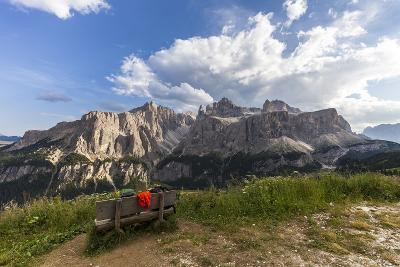 Sella Group, View from the High Route of Kolfuschg, Dolomites-Gerhard Wild-Photographic Print