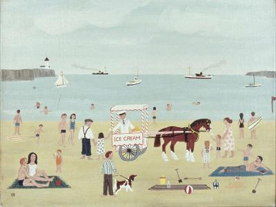 Selling Ice-Creams-Vincent Haddelsey-Giclee Print