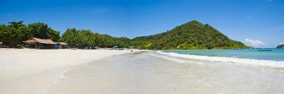 Selong Belanak Beach, Lombok, a Panorama of Perfect White Sandy Beach in South of Lombok, Indonesia-Matthew Williams-Ellis-Photographic Print