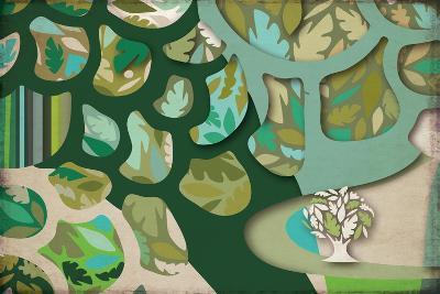 Selvática, Árbol Color-Bel?n Mena-Giclee Print