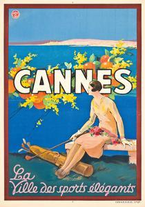 Poster Advertising Cannes by Sem