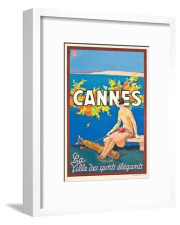 Poster Advertising Cannes