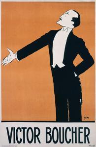 Victor Boucher by Sem