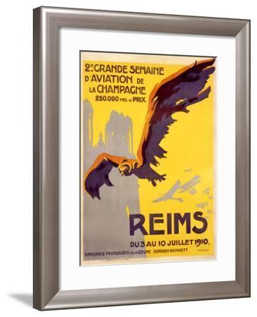 Semaine d'Aviation- Harald-Framed Giclee Print