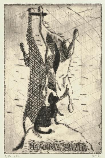 Semana Santa-Thomas MacGregor-Giclee Print