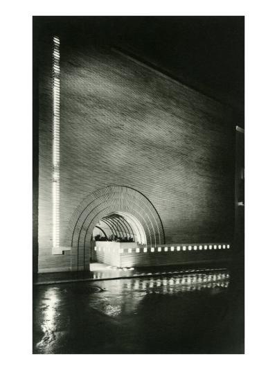 Semi-Circular Entrance--Art Print