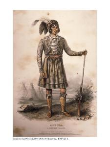 Seminole Chief Osceola, 1842