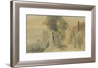 Sémiramis construisant Babylone-Edgar Degas-Framed Giclee Print