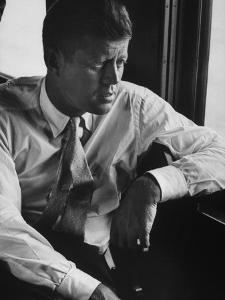 Sen. John F. Kennedy During His Presidential Campaign