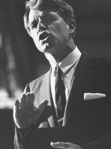 Sen. Robert F. Kennedy Campaigning for Local Democratics in New York State
