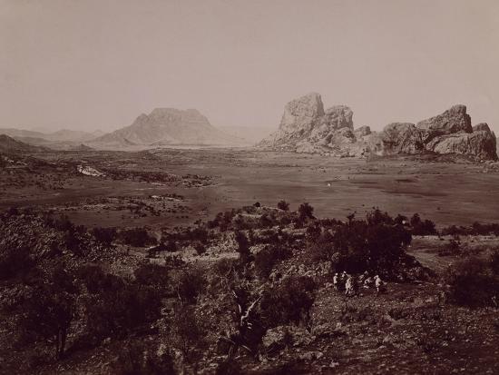 Senafe Basin Viewed from Summit of Amba Algi--Giclee Print