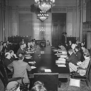 Senate Banking and Currency Committee Holding Hearings Regarding the Bretton Woods Agreements