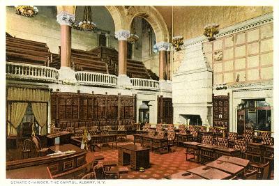 Senate Chamber, Albany--Art Print