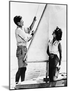 Senator John F Kennedy and Fiancée Miss Jacqueline Bouvier of Newport, Jun 26, 1953