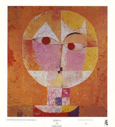 Senecio-Paul Klee-Art Print