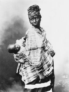Senegalese Mother and Child, circa 1900