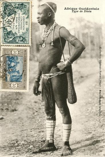 Senegalese Tribesman--Art Print