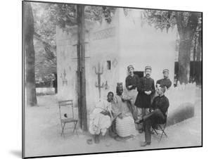 Senegalese Village at the Exposition Universelle De Paris, 1889