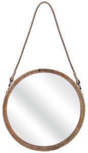 Senga Large Wood Mirror