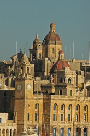 Senglea Town from the Harbour, Valletta, Malta