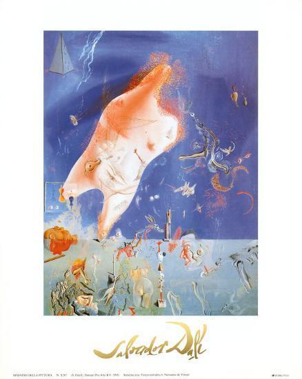Senicitas-Salvador Dal?-Art Print