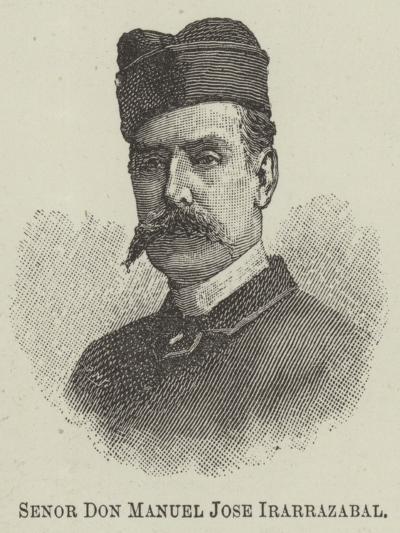 Senor Don Manuel Jose Irarrazabal--Giclee Print