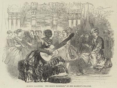 Senora Martinez, The Black Malibran, at Her Majesty's Theatre--Giclee Print