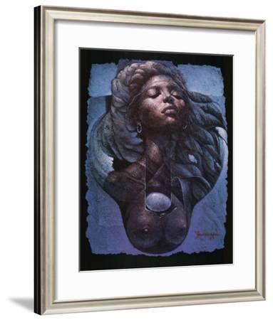 Sensuality-Lyonel Laurenceau-Framed Art Print