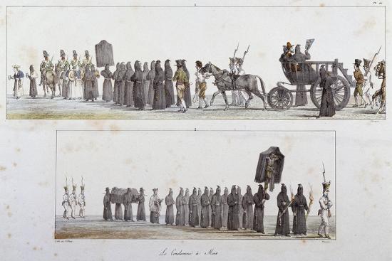 Sentenced to Death-Antoine Jean-Baptiste Thomas-Giclee Print