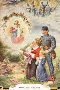 Sentimental Postcard from World War I