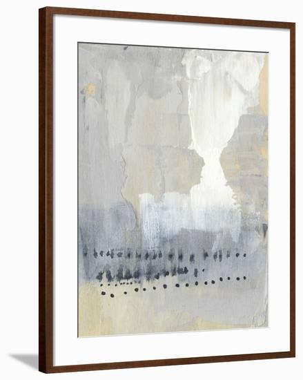 Sentry Dots I-Jennifer Goldberger-Framed Art Print