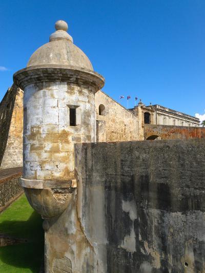 Sentry Post, San Cristobal Fort, San Juan-George Oze-Photographic Print